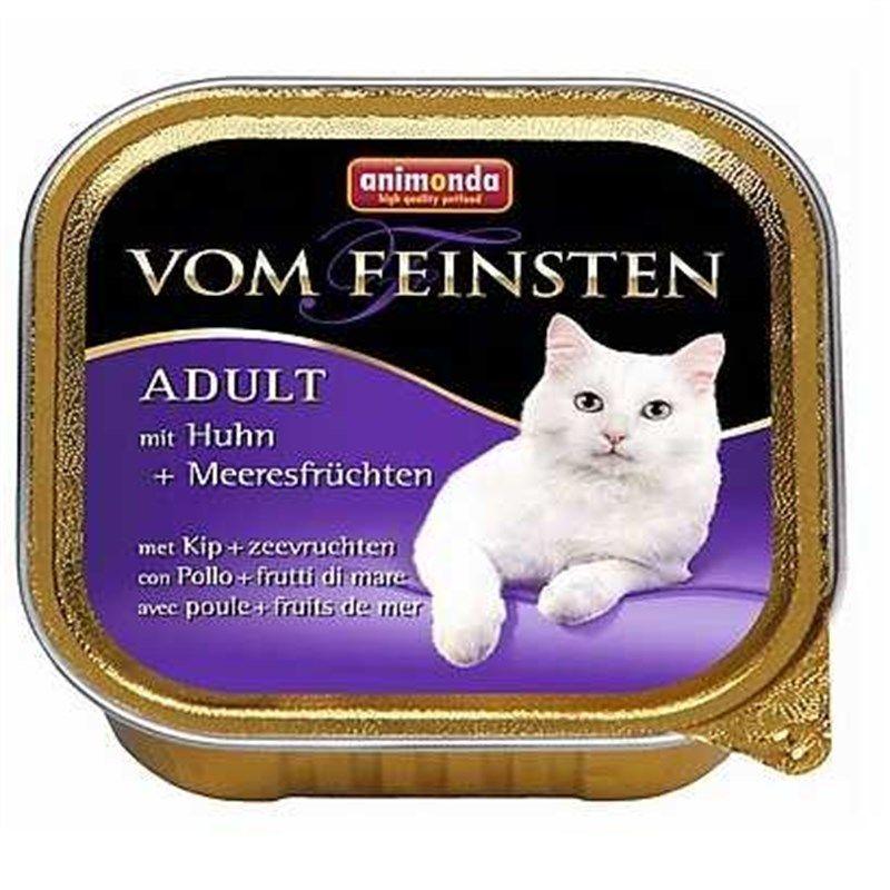 Animonda Vom Feinsten Deniz Ürünleri & Tavuklu Yaş Kedi Maması 100 Gr