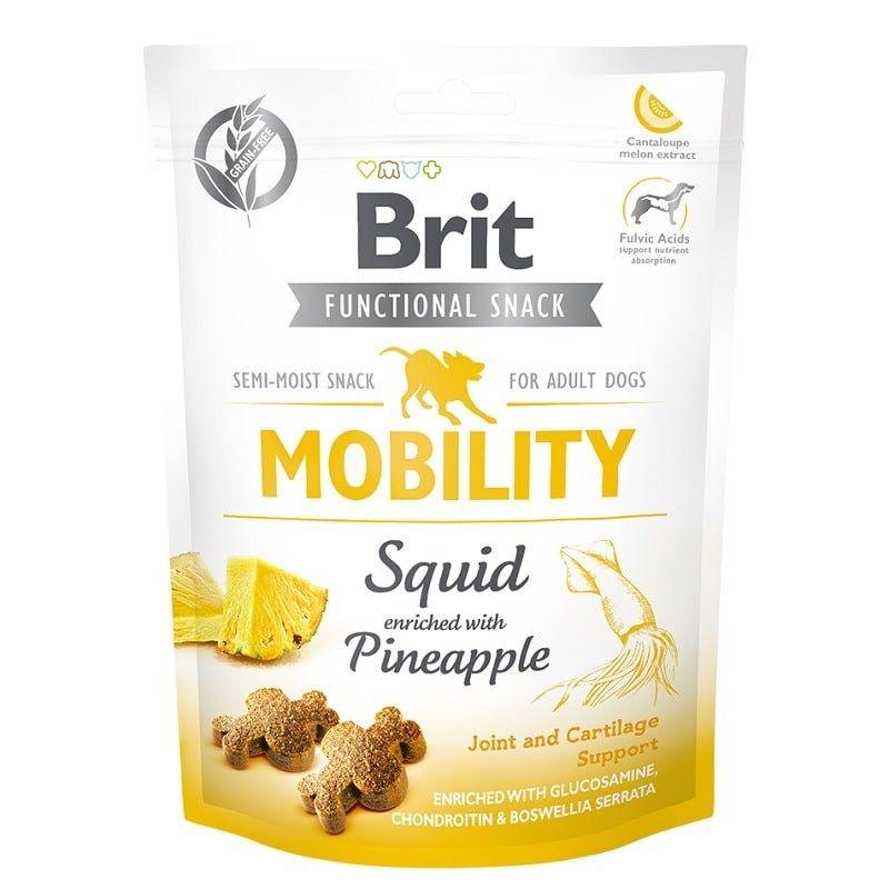 Brit Care Function Snack Mobility Kalamarlı Köpek Ödülü 150gr