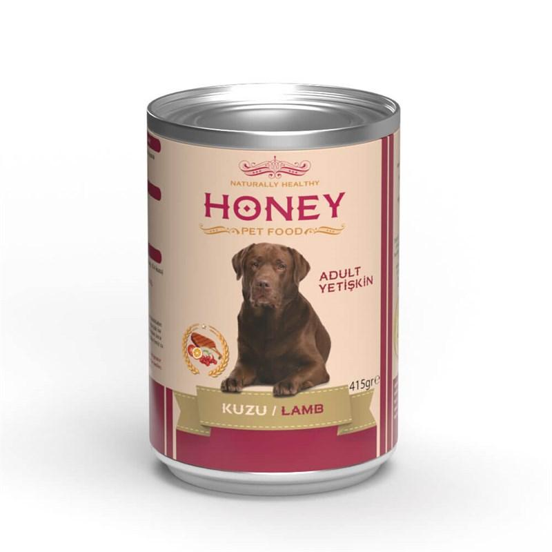 Honey Kuzulu Yetişkin Köpek Konservesi 415 Gr