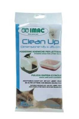 İmac Clean Up Kedi Tuvaleti Poşeti 45 x 35 Cm