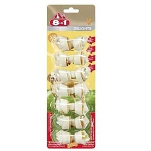 8in1 Delights Bones Köpekler İçin Tavuklu Ağız Bakım Kemiği XSmall