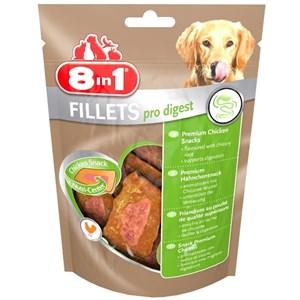 8in1 Fillets Pro Digest Sindirim Destekleyici Köpek Ödülü 80Gr
