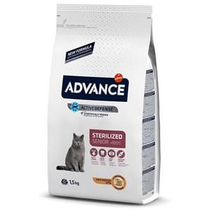 Advance Cat Sterilized Kısırlaştırılmış Yaşlı Kedi Maması 1.5 Kg