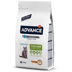 Advance Young Sterilized Tavuklu Kısırlaştırılmış Kedi Maması 1.5 Kg