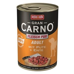 Animonda Gran Carno Hindi Eti ve Ördek Yürekli Köpek Konservesi 400 Gr