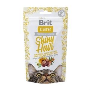 Brit Care Cat Snack Shiny Hair Kedi Ödülü 50 gr