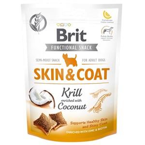 Brit Care Function Snack Skin Coat Krill Köpek Ödülü 150gr