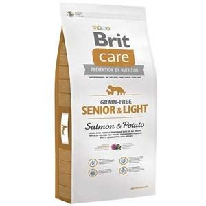 Brit Care Light Tahılsız Somonlu Patatesli Yaşlı Köpek Maması 12 Kg