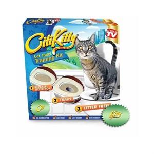 Citikitty Kedi Tuvalet Eğitim Seti - Kum Masrafından Kurtulun