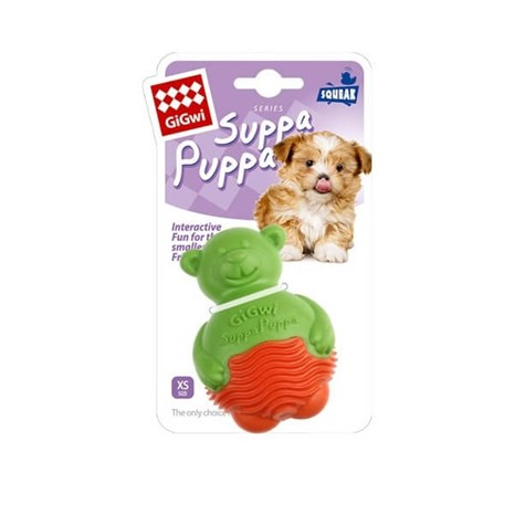 Gigwi Suppa Puppa Ayı Yavru ve Küçük Irk Köpek Oyuncağı