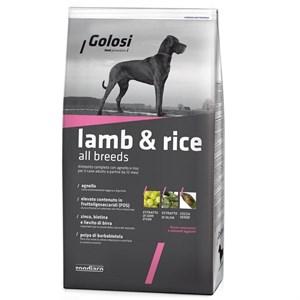 Golosi Lamb & Rice Kuzu Etli Köpek Maması 3 Kg