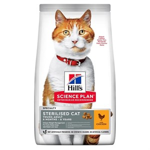 Hills Science Plan Kısırlaştırılmış Tavuklu Kedi Maması 15 Kg
