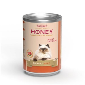 Honey Biftekli Kedi Konservesi 415 Gr