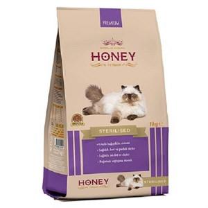 Honey Premium Sterilised Kısırlaştırılmış Yetişkin Kedi Maması 1 Kg