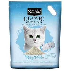 Kit Cat Bebek Pudrası Kokulu Silika Kedi Kumu 5 Lt