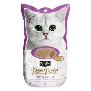 Kit Cat Purr Puree Tuna & Scallop Kedi Ödülü