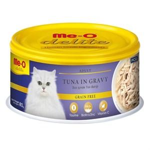 ME-O Delite Tahılsız Balıklı Soslu Yaş Kedi Maması 80gr