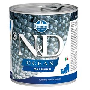 N&D Ocean Morina Balıklı Yavru Köpek Konservesi 285 GR