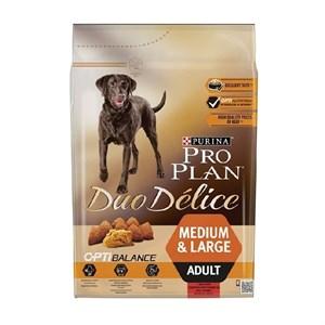 Proplan Duo Delice Taze Parça Etli Yetişkin Köpek Maması 2,5 Kg