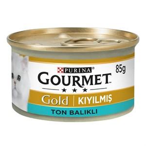 ProPlan Gourmet Gold Kıyılmış Ton Balıklı Kedi Konservesi 85 Gr