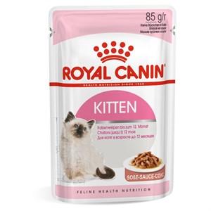 Royal Canin Kitten Gravy Gebe ve Yavru Konserve Kedi Maması 85Gr