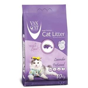 Van Cat Lavanta Kokulu Kalın Taneli Kedi Kumu 10 Kg