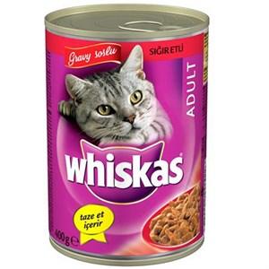 Whiskas Biftekli Konserve Kedi Maması 400 Gr