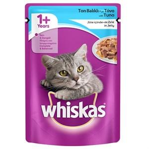 Whiskas Ton Balıklı Jöleli Kedi Konserve Maması 100Gr