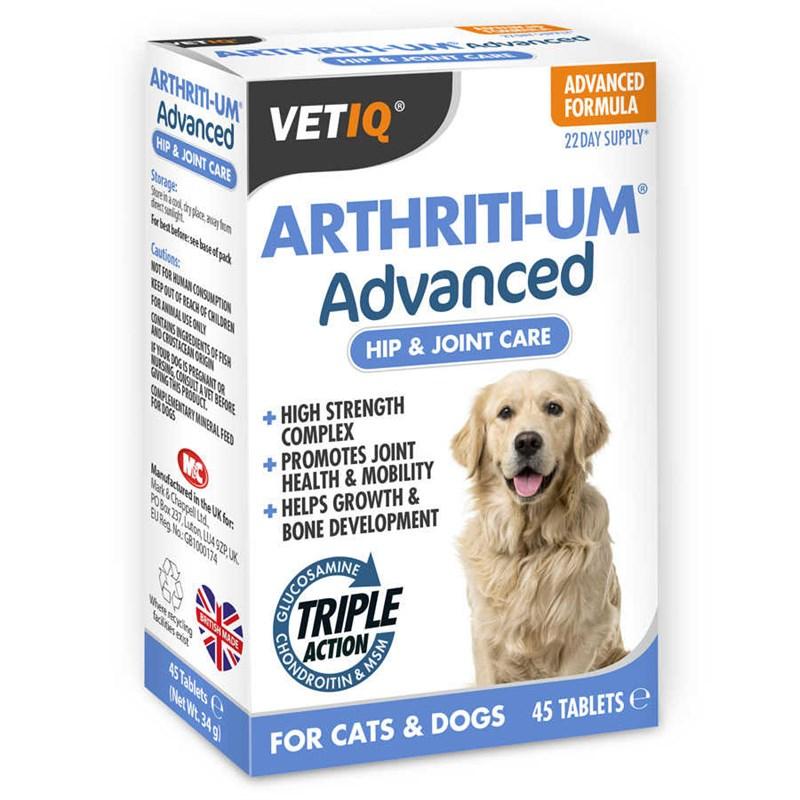 Vetiq Arthriti-Um Hip&Joint Care Köpek Eklem ve Kemik Sağlığı Destekle